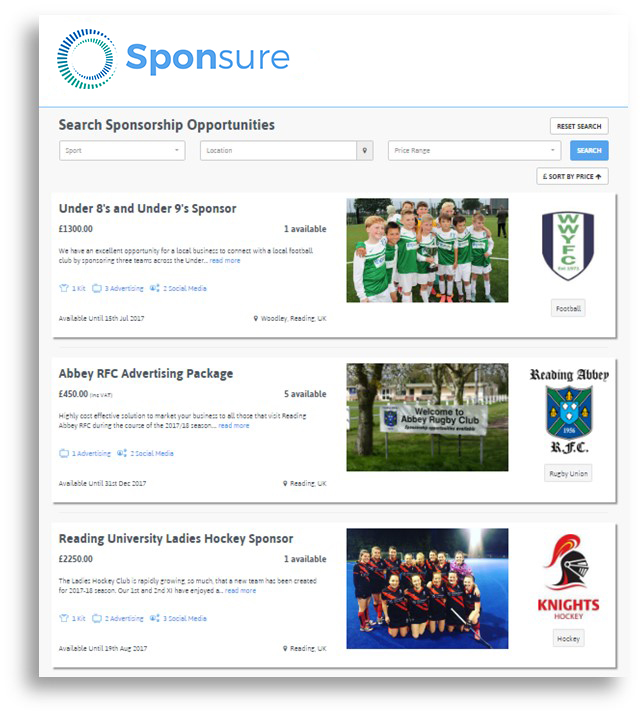 Sponsure, Provide sponsorship, provide sponsorship with sponsure, increase sales, drive marketing, brand awareness