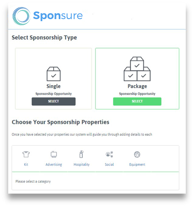 Sponsure, sport sponsorship to grow your sport, increase funds, money, sponsor